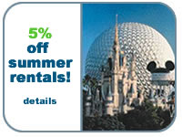 Get 5% discount on your ORlando Vacation Home Rental!  Click for details!